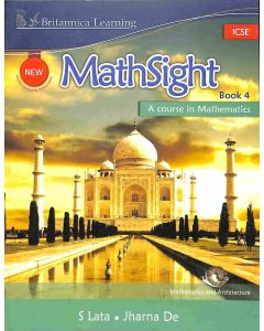 New Math Sight Book 4 ICSE (A Course In Mathematics)