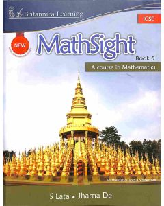 New Math Sight Book 5 ICSE (A Course In Mathematics)