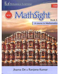 New Math Sight Book 6 ICSE (A Course In Mathematics)