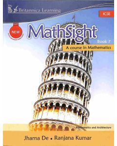 New Math Sight Book 7 ICSE (A Course In Mathematics)