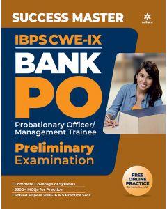 Success Master IBPS CWE-IX Bank PO Preliminary Examination