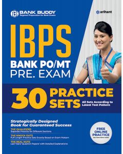 IBPS Bank PO/MT Pre. Exam 30 Practice Sets