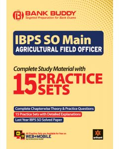 Bank Buddy IBPS SO Main Agricultural Field Officer 15 Practice Sets