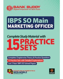 BANK BUDDY IBPS SO Main Marketing Officer Complete Study Material with 15 Practice Sets