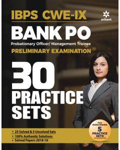 Ibps Cwe-Ix Bank Po Preliminary Examination 30 Practice Sets
