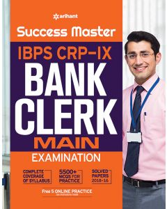 Success Master IBPS CRP-IX Bank Clerk Main Examination
