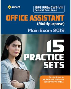 15 Practice Sets IBPS RRBs CWE-VII Regional Rural Banks Office Assistant (Multipurpose) Main Examination 2019