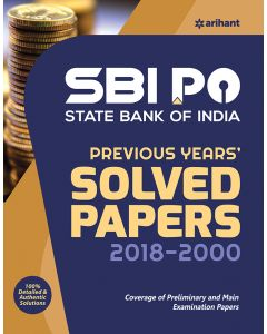 SBI PO Previous Years' Solved Papers 2018-2000