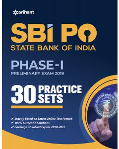SBI PO Phase 1 Practice Sets Preliminary Exam 2019