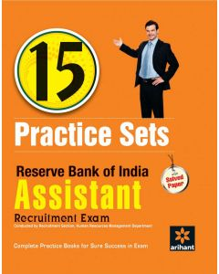 15 Practice Sets - Reserve Bank of India Assistant Recruitment Exam