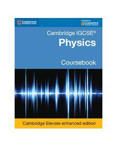 Cambridge IGCSE® Physics Coursebook Cambridge Elevate Enhanced Edition (2 Years)