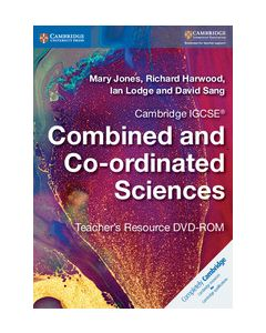 Cambridge IGCSE® Combined and Co-ordinated Sciences Teacher's Resource DVD-ROM
