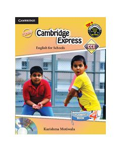 Cambridge Express 4 Student Book with CD-ROM CCE Edition (Primary)