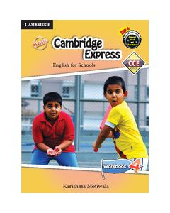 Cambridge Express 4 Workbook CCE Edition (Primary)