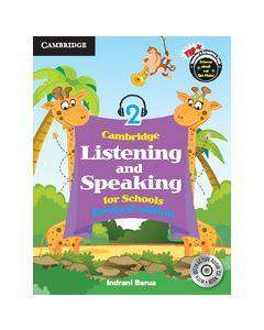 Cambridge Listening and Speaking for Schools Level 2 Student Book with Audio CD