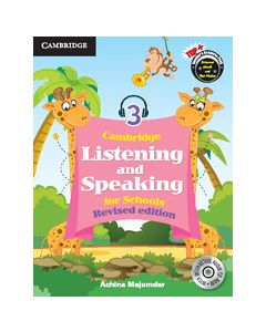 Cambridge Listening and Speaking for Schools Level 3 Student Book with Audio CD