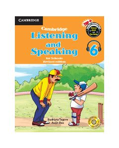 Cambridge Listening and Speaking for Schools Level 6 Student Book with Audio CD