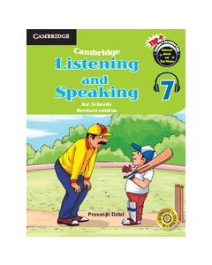 Cambridge Listening and Speaking for Schools Level 7 Student Book with Audio CD