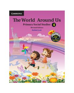The World Around Us Level 4 Student Book with DVD-ROM Revised Edition