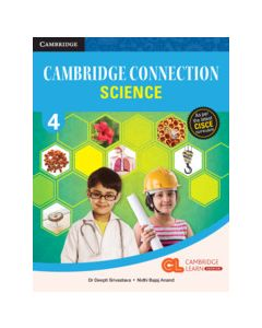 Cambridge Connection Science Level 4 Coursebook with AR App and Online eBook
