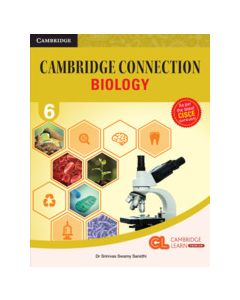 Cambridge Connection Science Level 6 Biology Coursebook with AR App and Online eBook
