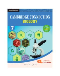 Cambridge Connection Science Level 7 Biology Coursebook with AR App and Online eBook