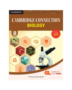 Cambridge Connection Science Level 8 Biology Coursebook with AR App and Online eBook