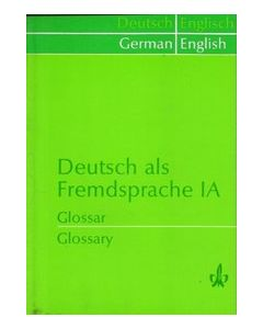 German As A Foreign Language 1a Glossary