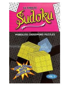 Ultimate Sudoku Vol 1 : Wordless Crossword Puzzles