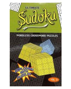 Ultimate Sudoku Vol 3 : Wordless Crossword Puzzles