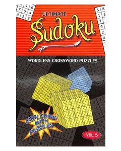 Ultimate Sudoku Vol 5 : Wordless Crossword Puzzles