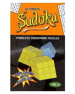 Ultimate Sudoku Vol 4 : Wordless Crossword Puzzles