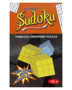 Ultimate Sudoku Vol 8 : Wordless Crossword Puzzles