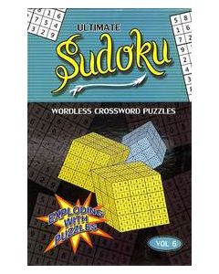 Ultimate Sudoku Vol 6 : Wordless Crossword Puzzles
