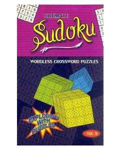 Ultimate Sudoku Vol 9 : Wordless Crossword Puzzles