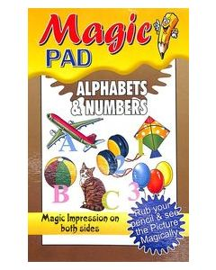 Magic Pad : Alphabets & Numbers