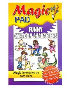 Magic Pad : Funny Cartoon Characters
