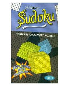 Ultimate Sudoku Vol 7 : Wordless Crossword Puzzles