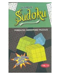 Ultimate Sudoku Vol 11 : Wordless Crossword Puzzles