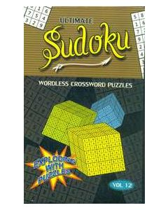 Ultimate Sudoku Vol 12 : Wordless Crossword Puzzles