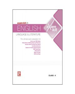 Exam-Kit in English Language & Literature for Class 10