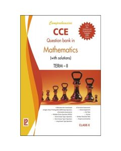 Comprehensive CCE Question Bank in Mathematics (with solutions) for Class 10