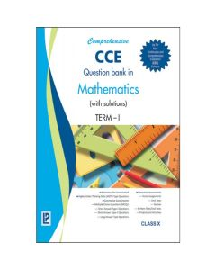Comprehensive CCE Question Bank in Mathematics (with solutions) Term-I for Class 10