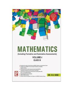 Comprehensive Mathematics Volume I & II for Class 9