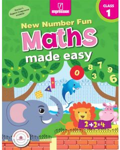 New Number Fun Maths Made Easy- Book 1