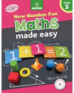 New Number Fun Maths Made Easy- Book 3