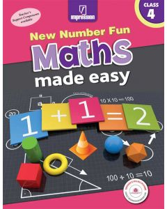 New Number Fun Maths Made Easy- Book 4