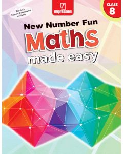 New Number Fun Maths Made Easy- Book 8