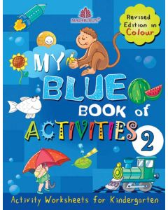 My Blue Book Of Activities [Multi Colour Edn]
