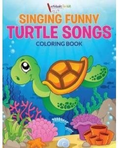 Singing Funny Turtle Songs Coloring Book